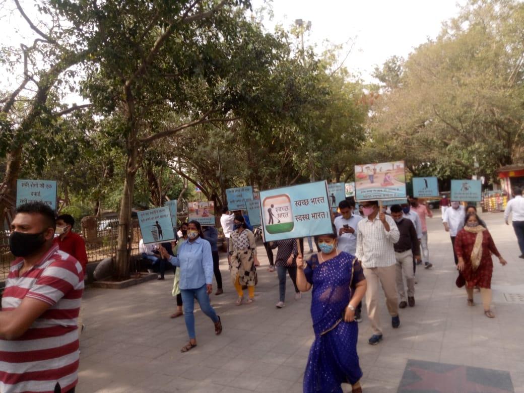 Celebration of Swachhata Pakhwada 2021 in NWDA photo 2
