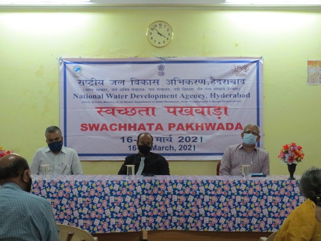 Celebration of Swachhata Pakhwada 2021 in NWDA photo 1
