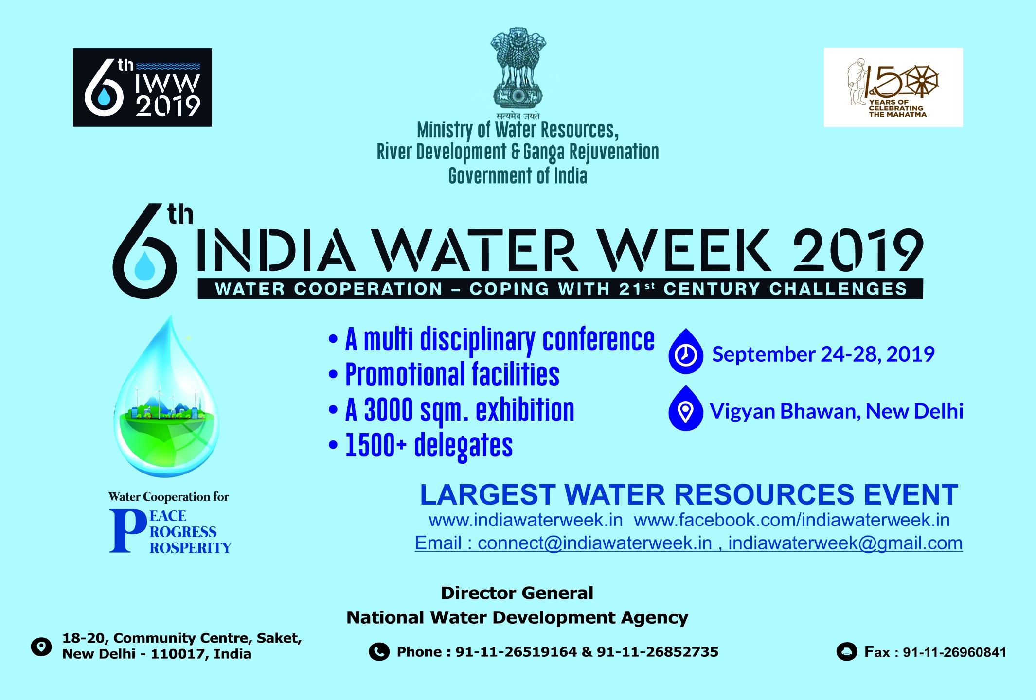 India Water Week 2019
