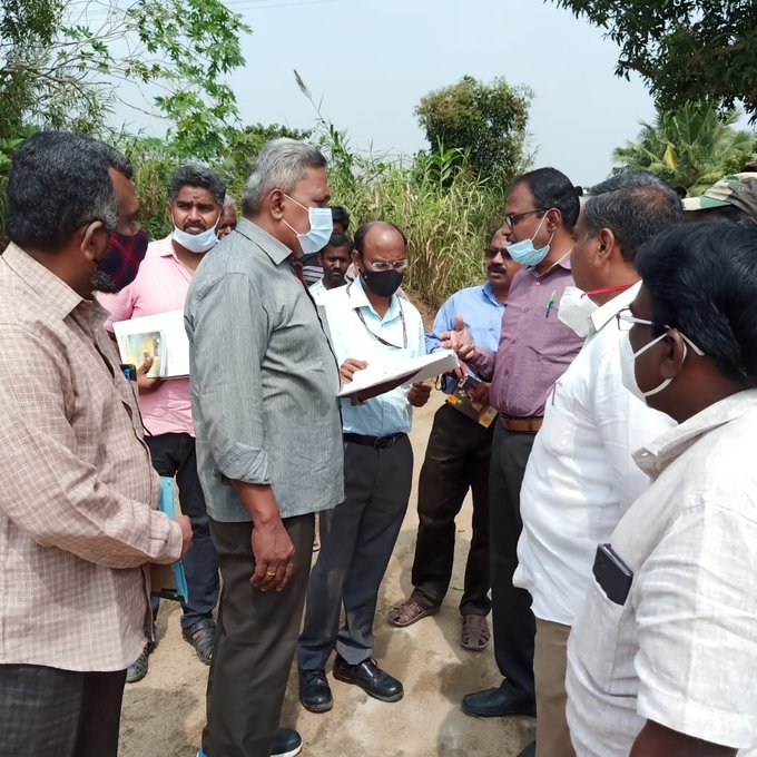 Discussion with WRD, Tamil Nadu Engineers