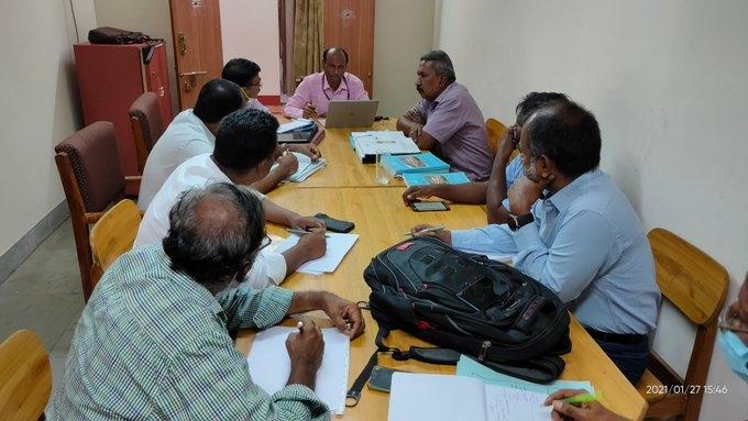 Meeting with WRD, Tamil Nadu and NWDA teams