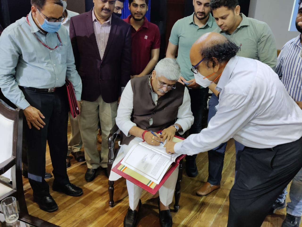 Signing of MoA of Ken-Betwa Link  Project Photo 2